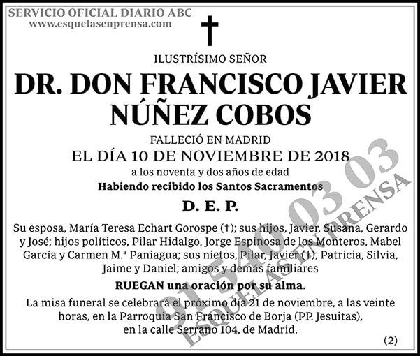 Francisco Javier Núñez Cobos